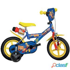 """Bicicletta Sam Il Pompiere Per Bambino 12"""" Eva 1 Freno"""