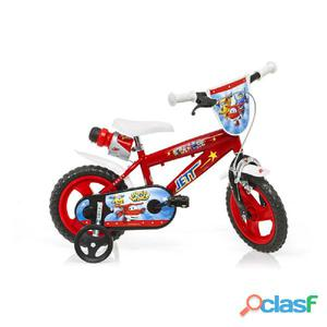 "Bicicletta Super Wings Per Bambino 12"" Eva 1 Freno"