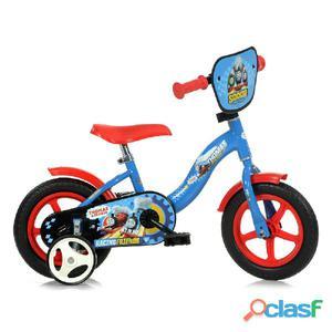 """Bicicletta Thomas Il Trenino Per Bambino 10"""" Senza Freno"""