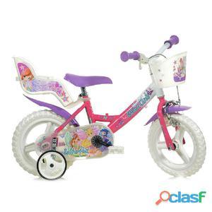 """Bicicletta Winx Per Bambina 12"""" Eva 1 Freno 124rl-wx7"""