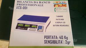 Bilancia elettronica digitale 40 kg