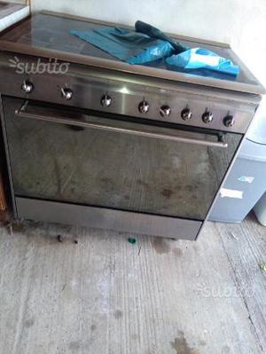 Cucina 5 fuochi con forno a gas doppia ventola lar