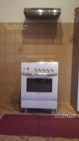 Cucina gas 4 fuochi e forno