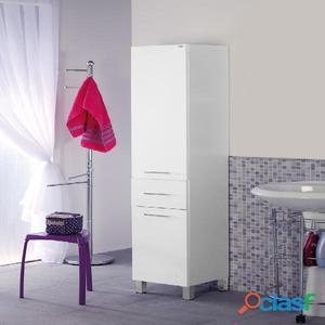 Mobile da bagno colonna porta asciugamani 33 cm posot class - Mobile porta asciugamani ...