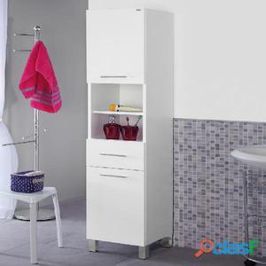 Mobile da bagno colonna porta asciugamani 33 cm posot class - Mobile bagno porta asciugamani ...