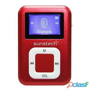 Mp3 sunstech dedalobt4gbrd 4 gb 1.1 rosso - Sunstech -