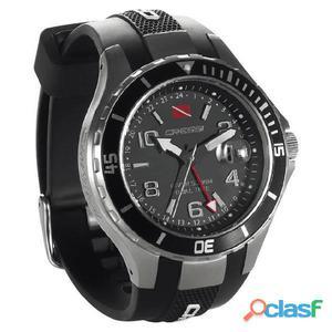 Orologi Cressi Traveller Dual Time Watch Black