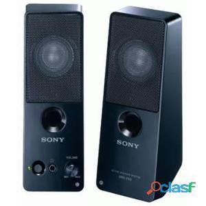 Sony SRS-Z50BC speaker 2.0 5W per pc e notebook, Nero