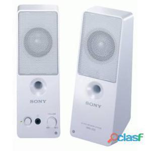 Sony SRS-Z50WC speaker 2.0 5W per pc e notebook, Bianco