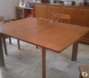 tavolo in noce allungabile fino a 12 posti posot class