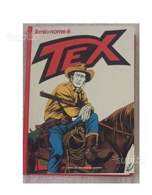 Fumetto cartonato Il mio nome è TEX