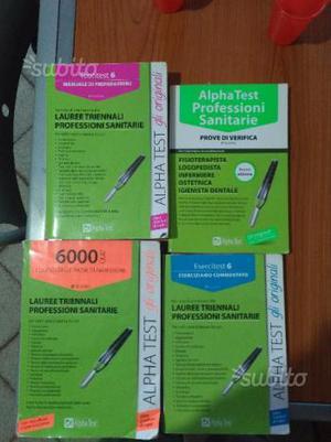 Kit Alpha test PROFESSIONI SANITARIE