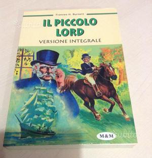 """Libro """"Il piccolo Lord"""" M&M editore anno"""