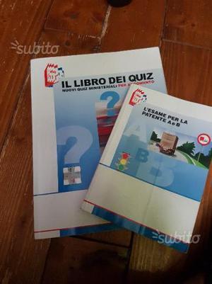 Libro e quiz per patente a e b