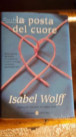 Libro la posta del cuore e isabel wolff