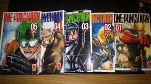 One Punch Man Manga da 1 a 5