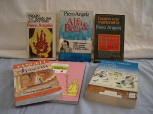 6 libri piero angela/odifreddi