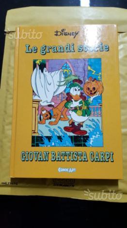 Le grandi storie di Giov Battista Carpi Comic Art
