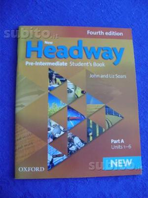 "Libro scuola inglese ""New Headway"" ed. Oxford"