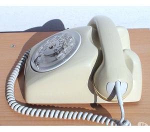 Telefono norvegese disco TELI SIEMENS bianco avorio SIP ipho