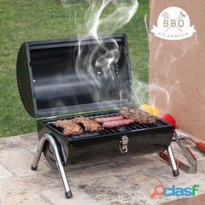 Barbecue a carbone cilindrico bbq classics - Bbq classics -