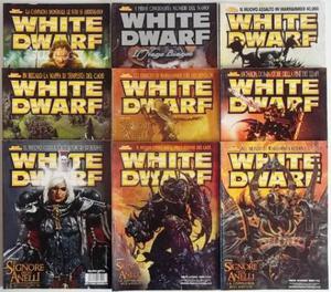 Lotto 9 numeri vari White Dwarf SPEDIZIONE GRATIS