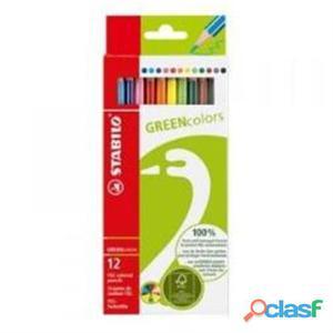 Nuovo 6019/2-12 Stabilo 6019/2-12cf12 Stabilo Green Colors