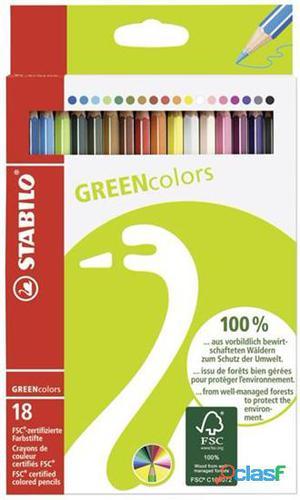 Nuovo 6019/2-181 Stabilo 6019/2-181cf18 Stabilo Green Colors