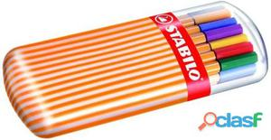 Nuovo 8820-02 Stabilo 8820-02cf20fineliner Point88 Cl Ass