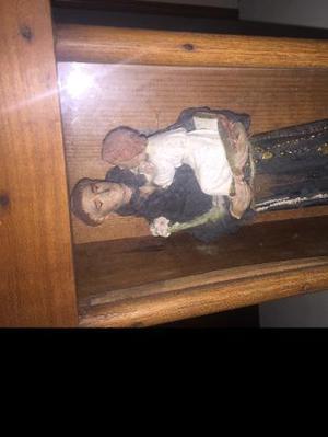Antica teca in legno S.Antonio con bambino Euro 200