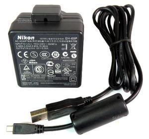 Batteria Nikon EN-EL12 con caricabatterie EH-69P