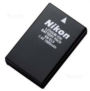 Batteria Nikon Originale Ricaricabile EN-EL9