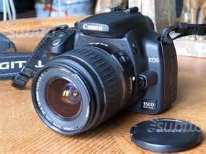 Canon EOS 350D con doppio obbiettivo