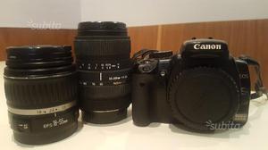 Canon eos 400D con  Canon + sigma