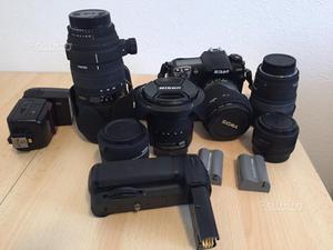 Corredo fotografico (NIKON D200 + Obiettivi)