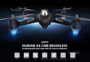 Drone Fotografico HUBSAN H501C HD+GPS Nuovo