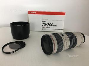 Obiettivo Canon EF mm f/4L USM