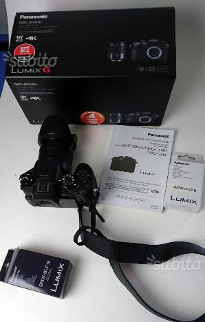 Panasonic gh4re-k con ottica  mm ex demo