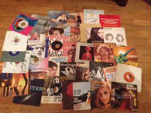160 Vecchi dischi vinile 45 giri anni