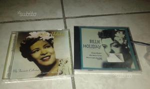 2 cd musicali di billie Holiday vintage anni