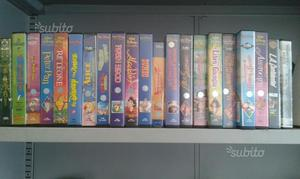 48 videocassette vhs disney e varie
