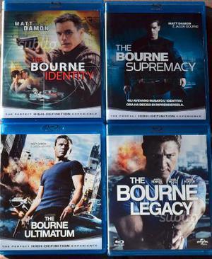 Blu ray originali saga jason bourne