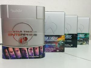 Cofanetti Star Trek Enterprise e TNG