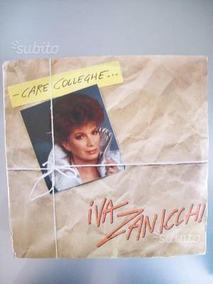 Disco vinile musica LP 33 g Care Colleghe Zanicchi