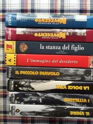 Film in vhs collezioni varie