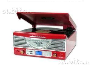 Giradischi nilox radio hifi