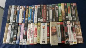 Lotto di 44 videocassette VHS