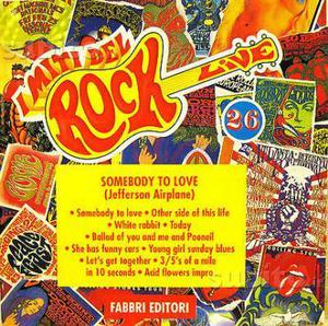 Miti del rock - cd originale Jefferson Airplane