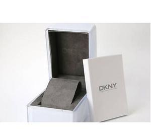 Orologio donna DKNY con scatola originale acciaio-pelle NUOV