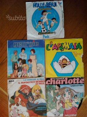 Sigle tv cartoni animati 45 giri originali '